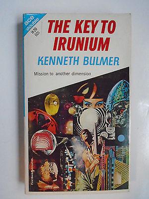 The Key To Irunium   Bulmer  The Wandering Tellurian   Schwartz  Ace Double 1967