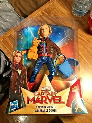 Marvel- Captain Marvel- Action Figure- Sealed- Some Package Wear See Pics