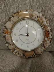 Sands Of Time - Seashell Battery Operated Wall Clock - 8