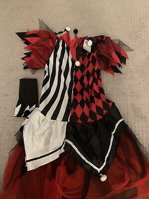 Girls Youth Harley Quinn Halloween Costume