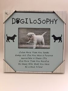 Dog Picture Frame, New