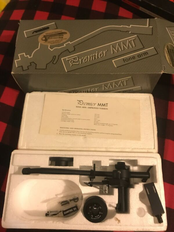 Sumiko Premier MMT Tonearm INCREDIBLE Brand MINT In The Box!!!