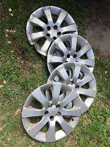 Hub caps for Subaru Impreza - $20 the lot Forest Lake Brisbane South West Preview
