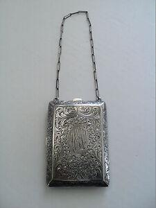 Antique Silver Coin Purse Ebay