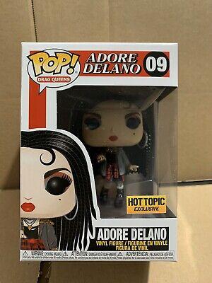 Funko Pop. Drag Queens Rupaul Adore Delano Exclusive  Hot topic IN STOCK + Prote