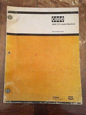 Case 580c Ck Loader Backhoe Parts Catalog Dealer Original