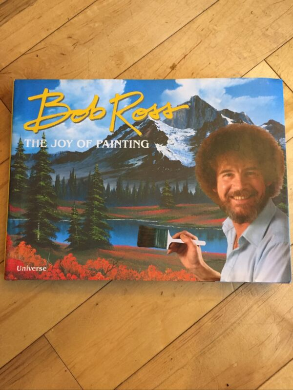 Bob Ross The Joy Of Painting Book