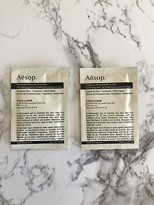 Aesop A Set Of Two Petitgrain Reviving Body Gel