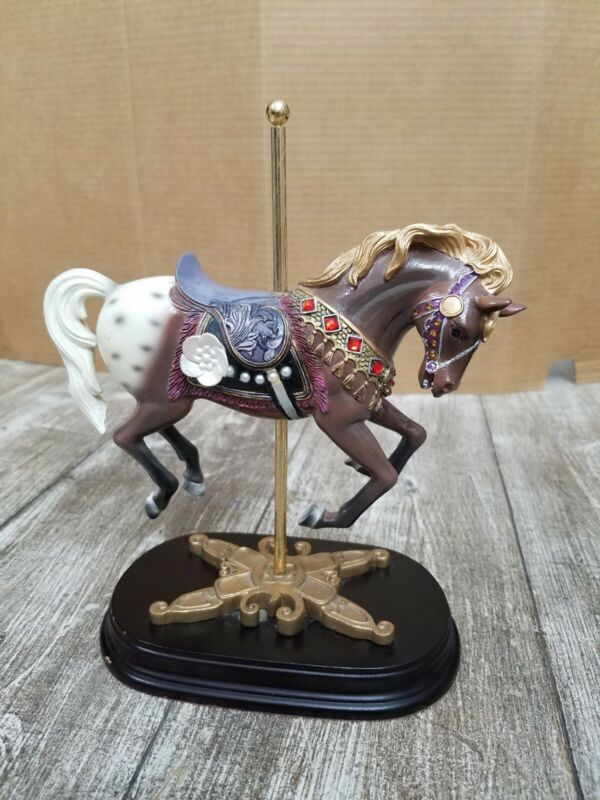 """The House of Kronemann """"Baroque Jumper"""" Carousel Horse Collection"""
