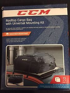 CCM Rooftop Cargo Bag (Brand new never used)
