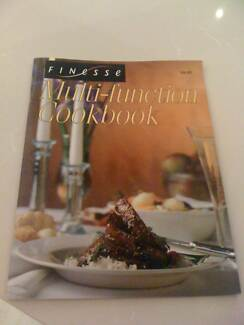 COOKBOOK FINESSE MULTI FUNCTION OVEN Brand New