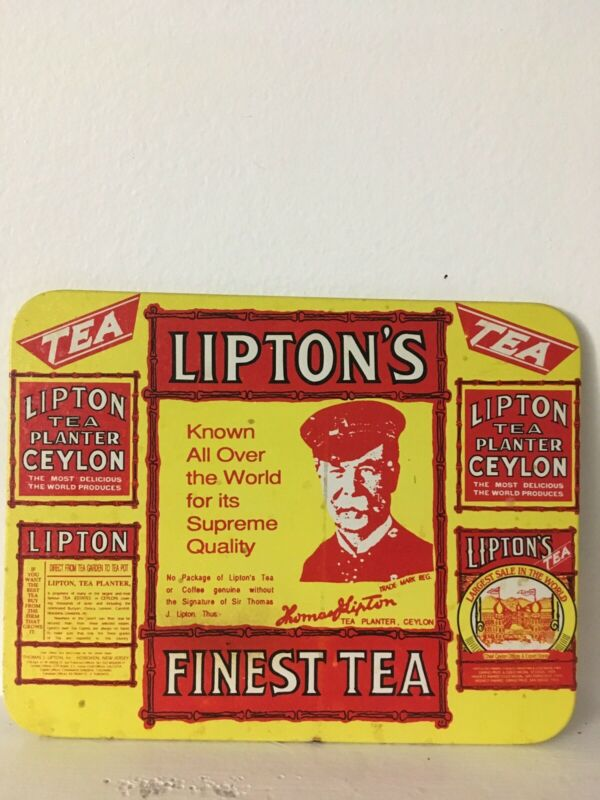 Vintage Iipton Tea Sign