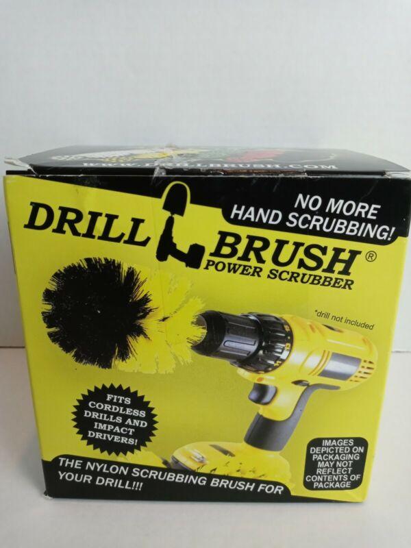 ABN Green Medium Scrubber Drill Attachment Brush 3pc Set for Power Drill