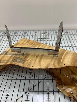 Vintage H Boker & Co's Improved Cutlery 2 Blade Pearl Pen Knife 1869-1914 (061)