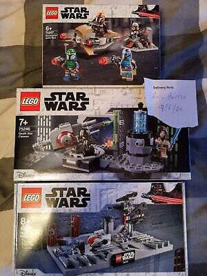 Lego Star Wars Job Lot 75267, 75246 & 40407