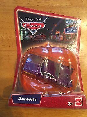 Disney Toy Cars Halloween (2007 Disney Pixar Cars Supercharged Purple Ramone Halloween Pumkin Die-Cast Toy)