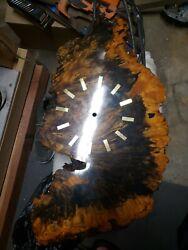 Burro Wood Wall Clock