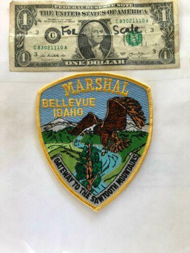 Bellevue Idaho Police Patch Un-sewn in great shape