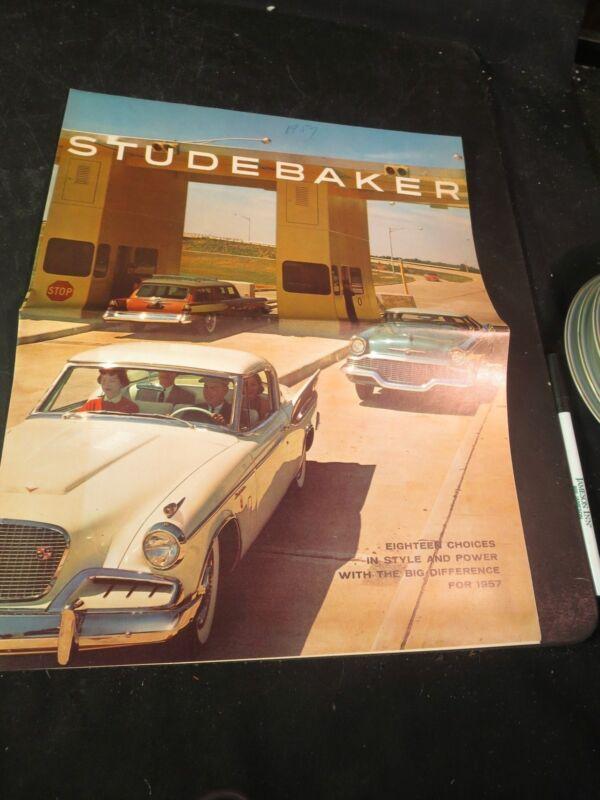 Original 1957 Studebaker Sales Brochure