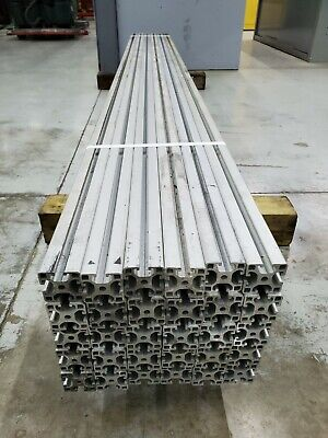 30 Piece Lot - Aluminum T Slot Extrusion 40mm X 40mm 93 Long Used