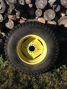 Compact tractor tires. NEW
