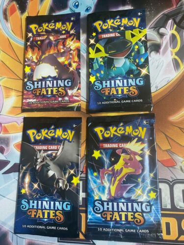 Assorted Pokemon Tcg Empty Booster Pack Foils (pick Your Art) (no Cards)