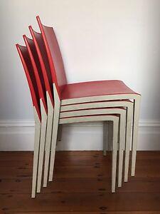 4 x Gaber Italian made & designed chairs Bondi Junction Eastern Suburbs Preview