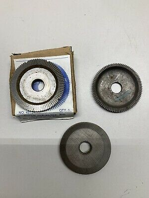 Key Cutter Wheel Lot Of 3 Curtis Taylor