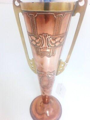 Arts & craft copper & brass varse