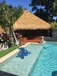 Bali huts , timber decks, pavilions, bamboo fencing, day beds. Bogangar Tweed Heads Area Preview