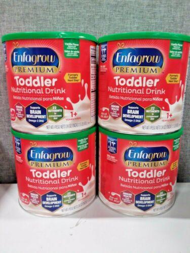 Enfagrow Toddler Next Step, Vanilla Flavor - Powder Can, 24 oz x4...4 Cans Total