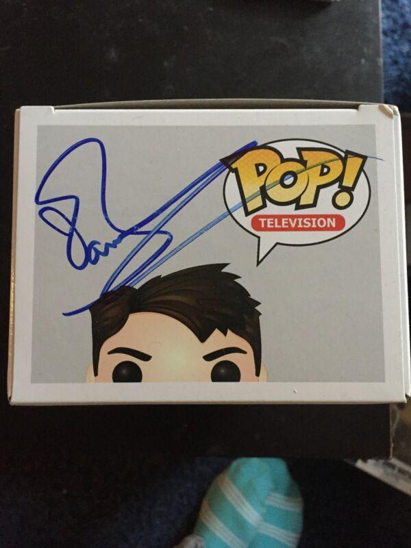 Doctor Who John Barrowman Funko Pop Vinyl Autographed Signed COA D