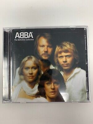ABBA The Definitive Collection (CD, 2-Discs, 2001) 37 Tracks