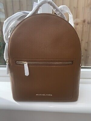 BNWT Michael kors Tan leather Jessa backpack