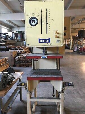 Dake 12 Ton C-frame Hydraulic Press With Force Monitor
