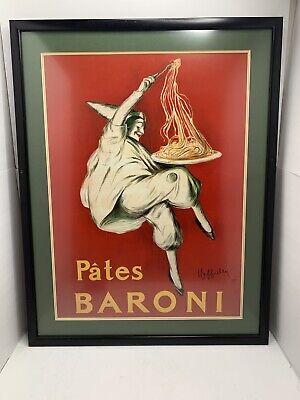 PATES BARONI, 1921 WINE POSTER By Leonetto Cappiello