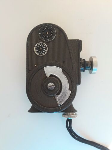 Vintage BELL & HOWELL Filmo Double Run Eight, Wind Up Sportster Movie Camera