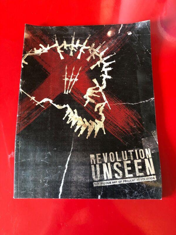 The Hidden Art of Projekt Revolution ART BOOK •RARE Linkin Park 2007 Tour Rock