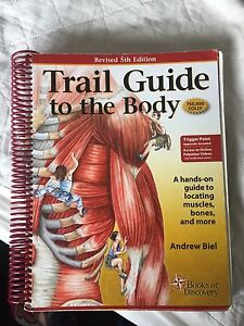 Trail Guide to the Body textbook for sale!