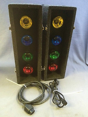 Soundlab 8 Lamp Light Box with Sound to Light DJ Disco Karaoke Party Home*