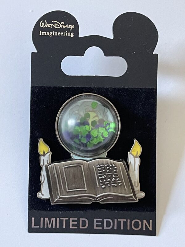 Disney WDI LE 300 Haunted Mansion Leota Spell Book Crystal Ball Bubble Pin