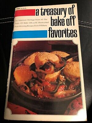 Vintage Cook Book A Treasury of Bake off Favorites 1969 Pillsbury