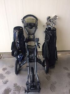 Golf clubs/speed cart for sale