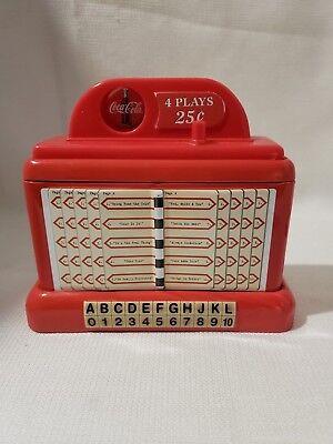 Coca Cola Jukebox Tin Bank