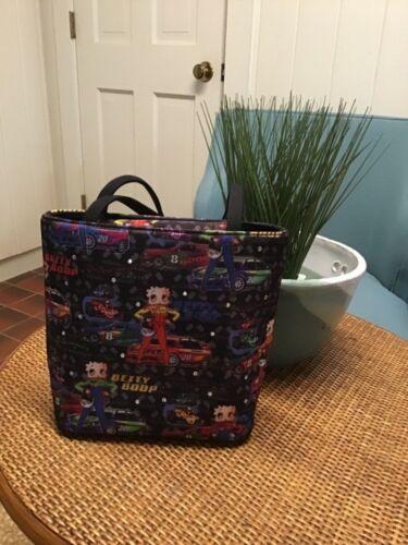 Betty Boop Handbag Purse Racecar