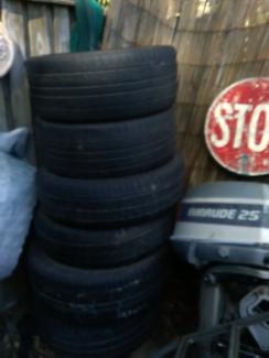 Tyres all good useble