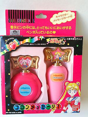 Sailor Moon S Perfume Bottle pen Chibi usa & Moon Vintage Bandai Japan NEW