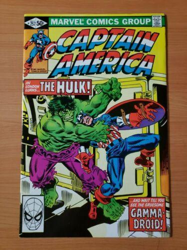 Captain America #257 ~ NEAR MINT NM ~ 1981 Marvel Comics
