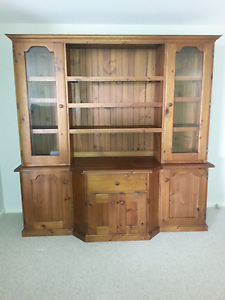 Baltic pine wall unit Boat Harbour Port Stephens Area Preview