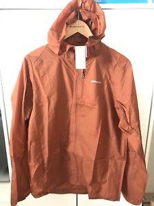 Patagonia Houdini Jacket Copper Ore Mens Medium